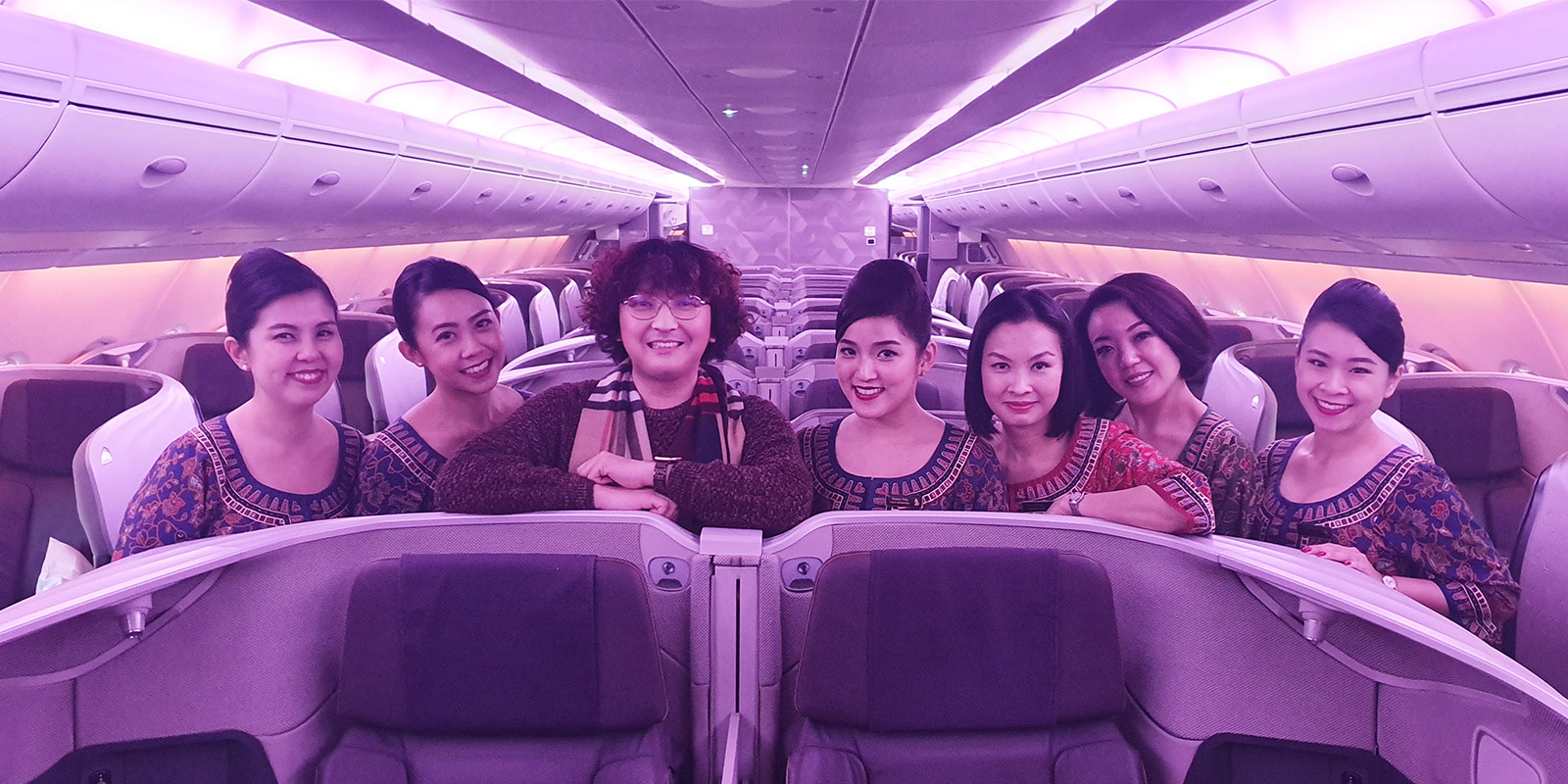#FlySQ Singapore Airlines New A380 Business Class