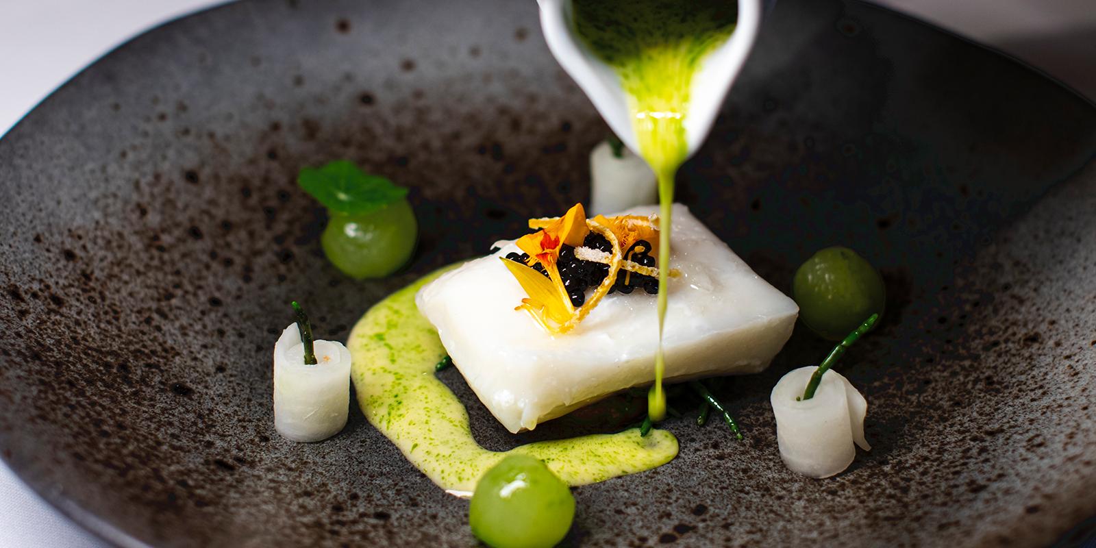 High End Modern French Cuisine Michelin Star Restaurant in Reading