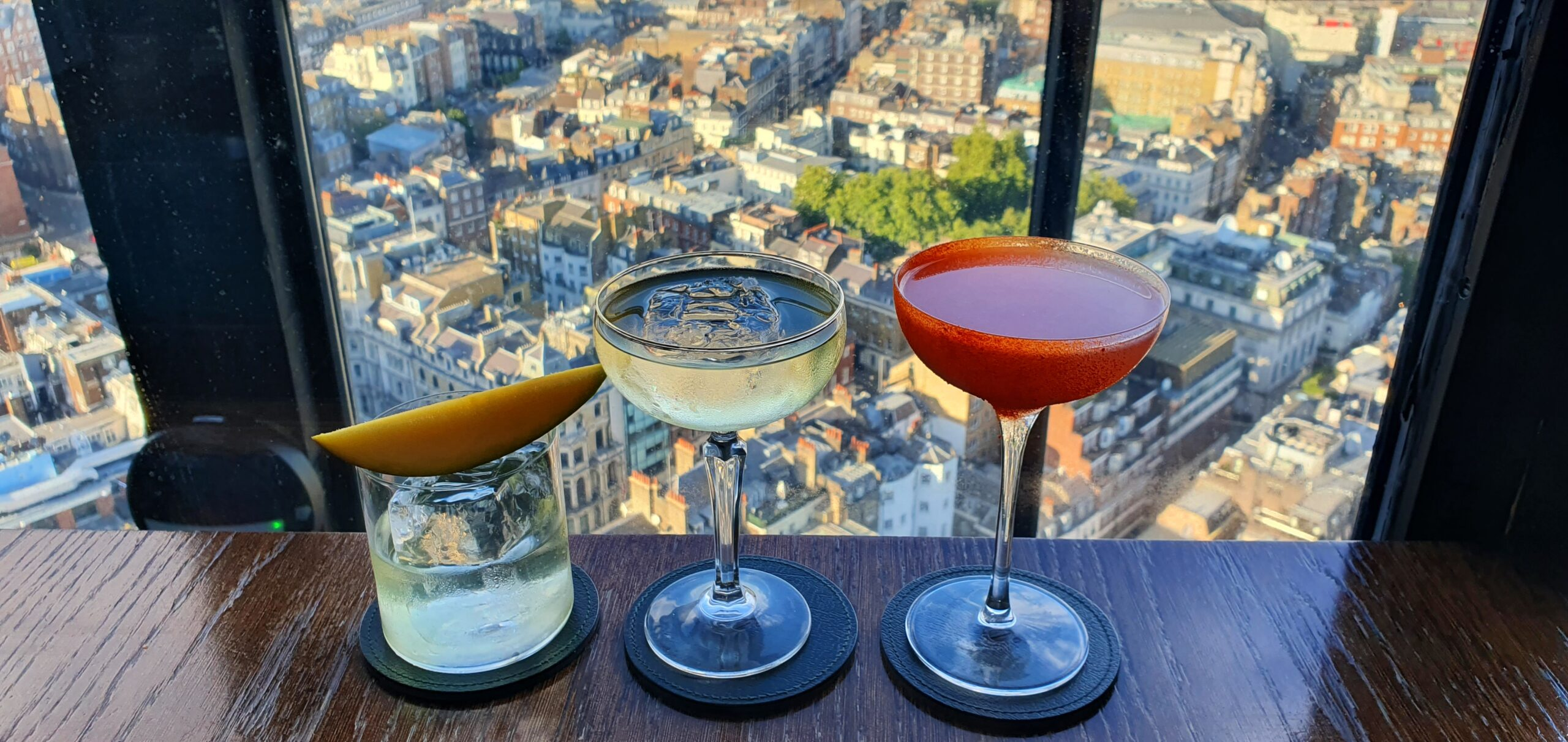 Mayfair's Excellent Dining Experience with Panoramic View